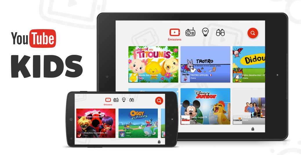 YoutubeKids, l'appli vidéo pour les enfants