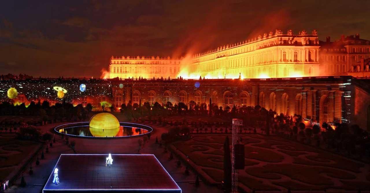 Enchantement et féérie à Versailles !