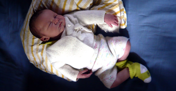 Aider votre bébé à dormir pendant les vacances