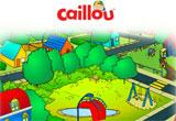 Caillou, site de jeux gratuits pour les petits enfants
