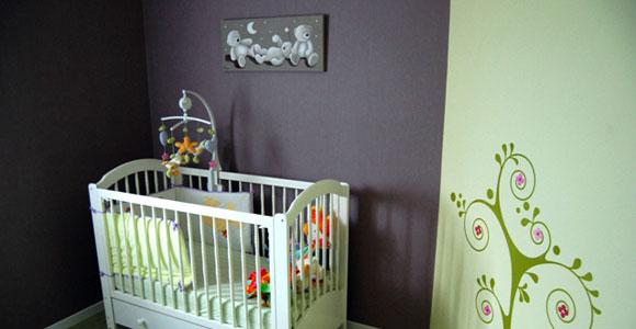 La décoration de la chambre de bébé